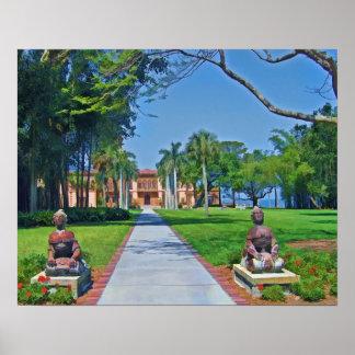 Mansión d'Zan del Ca, Sarasota, FL, impresión