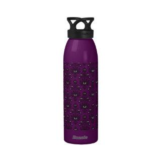 Mansión frecuentada diseño demoníaco botella de agua reutilizable