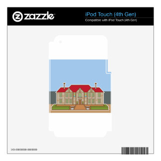 Mansion Front yard vector iPod Touch 4G Skin
