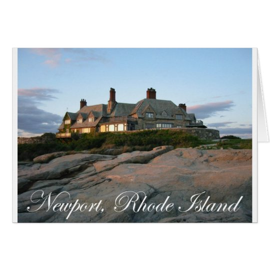 Mansion in Newport Card