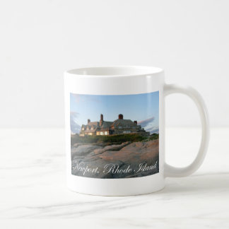 Mansion in Newport Classic White Coffee Mug