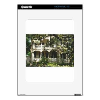 mansion in texas port arkansas iPad skin