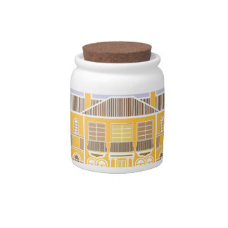 Mansion warm house candy jars