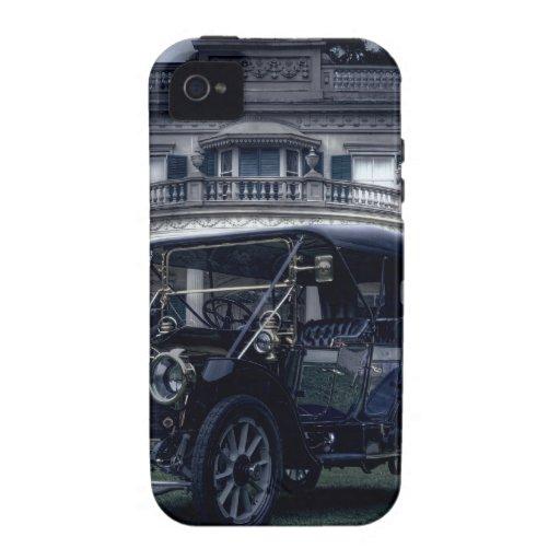 Mansión y coche iPhone 4/4S carcasas