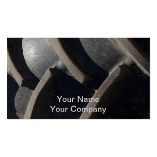 Mansize Tread Double-Sided Standard Business Cards (Pack Of 100)