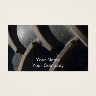 Mansize Tread Business Card
