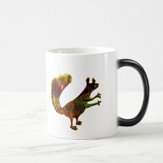 Manso ardilla taza de café