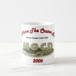 Manson Greater Crater Days  Coffee Mug