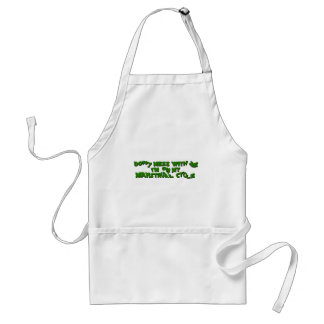manstrual cycle adult apron
