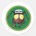 Mant Farm the Sticker