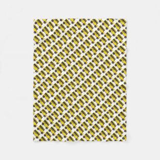 Manta amarilla del profesor del conductor de los manta de forro polar