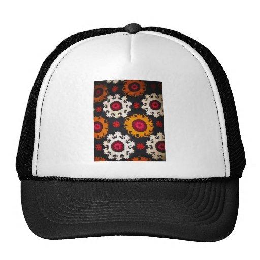 Manta antigua del turco del bordado del otomano gorra