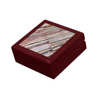 Manta azoreno típica cajas de joyas