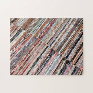 Manta azoreno típica rompecabezas con fotos