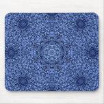 Manta azul del persa de la pelusa tapetes de raton