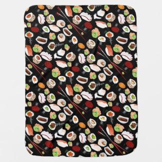 Manta clasificada del bebé del sushi mantita para bebé