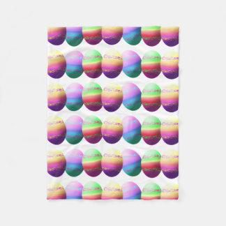 Manta colorida del tiro de los huevos de Pascua Manta De Forro Polar