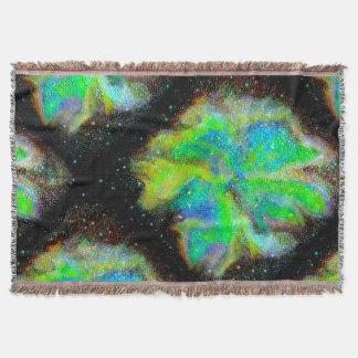 Manta cósmica del tiro de la nebulosa y del polvo