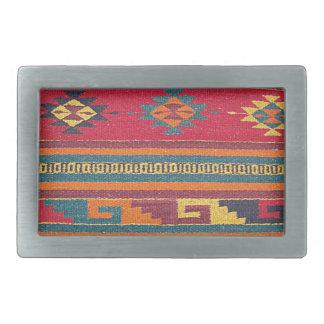 Manta de la cabina del vintage hebilla cinturon rectangular