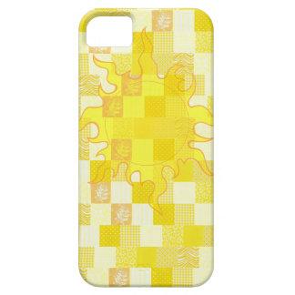 Manta de la sol iPhone 5 carcasa