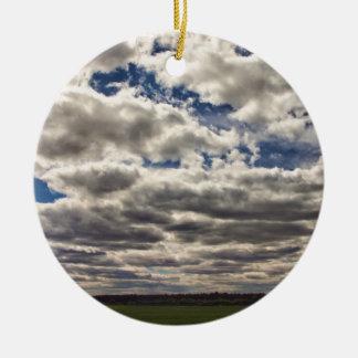 Manta de las nubes HDR Ornato