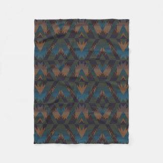 Manta decorativa de la impresión azteca del diseño