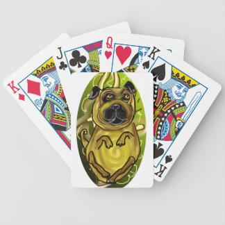 Manta del barro amasado baraja cartas de poker