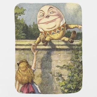 Manta del bebé de Humpty Dumpty Mantitas Para Bebé