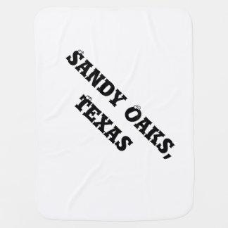 Manta del bebé de los robles de Sandy Mantas De Bebé