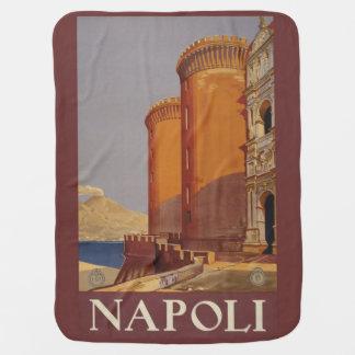 Manta del bebé de Napoli Nápoles Italia del Mantita Para Bebé