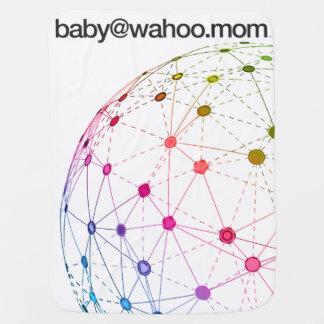 """manta del Cochecito-Carseat de """"baby@wahoo.mom"""" Manta De Bebé"""