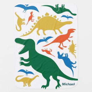 Manta del dinosaurio mantita para bebé