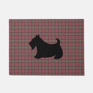 Manta del Doormat del perro de Terrier Scotty del Felpudo