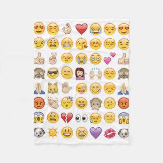 manta del emoji manta de forro polar