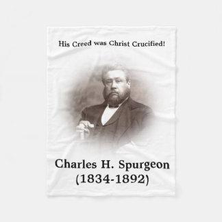 Manta del paño grueso y suave de Charles Spurgeon Manta De Forro Polar