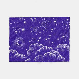 """Manta del paño grueso y suave de la """"luna y de las manta de forro polar"""