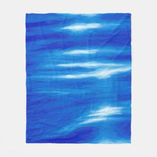 Manta del paño grueso y suave de las reflexiones manta de forro polar