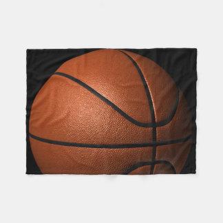 Manta del paño grueso y suave del baloncesto manta de forro polar
