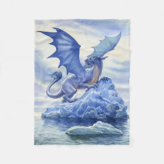 Manta del paño grueso y suave del dragón del hielo