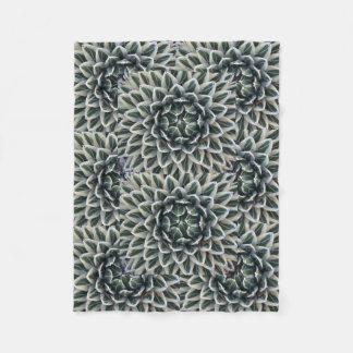 Manta del paño grueso y suave del modelo del agavo manta de forro polar