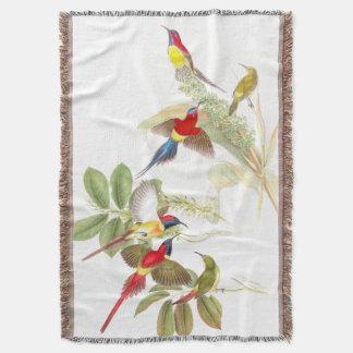 Manta del tiro de los pájaros de Goulds Sunbird
