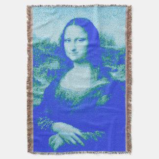 Manta del tiro del arte 2 de Mona Lisa del mosaico