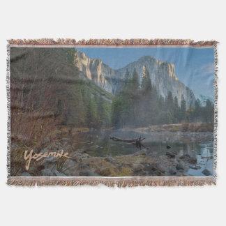 Manta del tiro del EL Capitan Yosemite