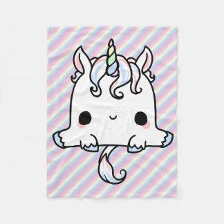 Manta del unicornio de Kawaii Manta De Forro Polar