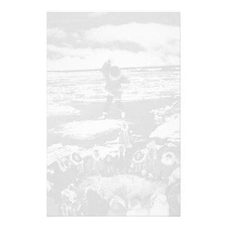 Manta esquimal de los E.E.U.U. Alaska del vintage Papeleria De Diseño