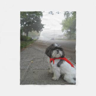 Manta estupenda del perrito del mascota del paño manta de forro polar