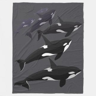 Manta fresca combinada del paño grueso y suave del manta de forro polar