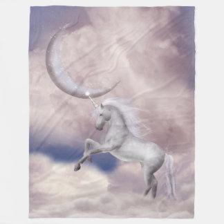Manta grande del paño grueso y suave del unicornio