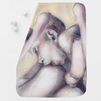 Manta hermosa del bebé - amamantando mantas de bebé