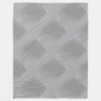 Manta modelada Plata-Coloreada metálica del paño Manta De Forro Polar